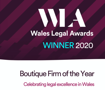 Wales Legal Awards Winner